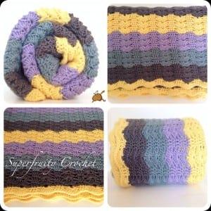 Renkli Bebek Battaniyesi Yapılışı 34