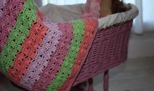 Renkli Bebek Battaniyesi Yapılışı 35
