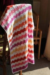Renkli Bebek Battaniyesi Yapılışı 37