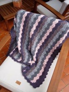 Renkli Bebek Battaniyesi Yapılışı 39