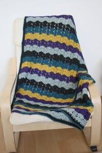 Renkli Bebek Battaniyesi Yapılışı 40