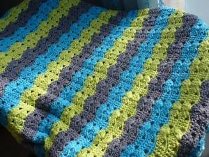 Renkli Bebek Battaniyesi Yapılışı 42