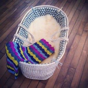 Renkli Bebek Battaniyesi Yapılışı 43