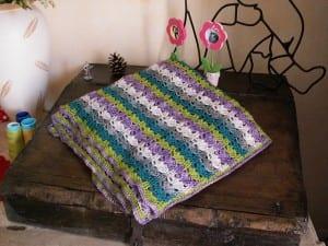 Renkli Bebek Battaniyesi Yapılışı 44