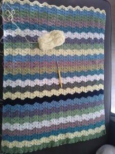 Renkli Bebek Battaniyesi Yapılışı 45