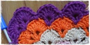 Tığ İşi Renkli Bebek Battaniyesi Yapılışı 40