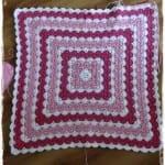 Tığ İşi Renkli Bebek Battaniyesi Yapılışı 41