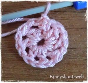 Tığ İşi Renkli Bebek Battaniyesi Yapılışı 6