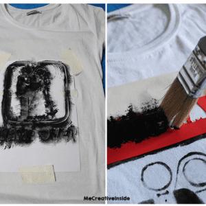 Tişört Üzerine Baskı Nasıl Yapılır ? 1