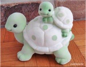 Tuz Hamurundan Sevimli Kaplumbağa Yapılışı