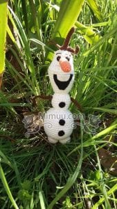Amigurumi Frozen Olaf Free Pattern 10