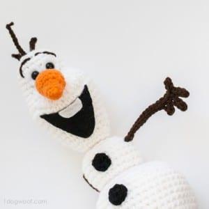 Amigurumi Frozen Olaf Free Pattern 1