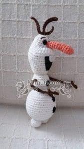 Amigurumi Frozen Olaf Free Pattern 8