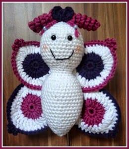 Amigurumi Kelebek Yapılışı 1