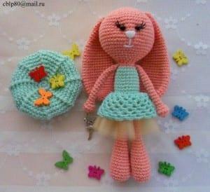 Amigurumi Sevimli Tavşan Yapılışı 5