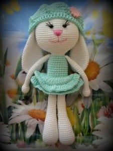 Amigurumi Sevimli Tavşan Yapılışı 7