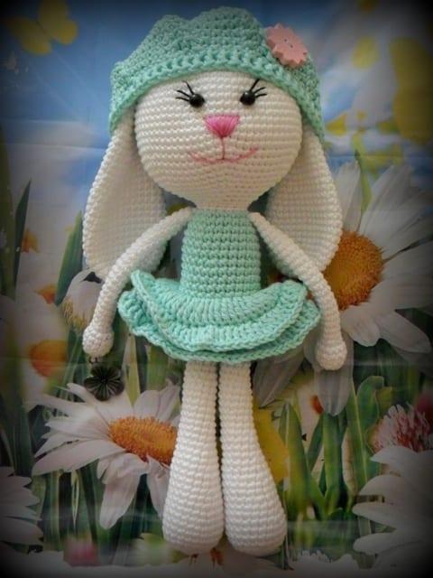 Amigurumi Erkek Tavşan Yapılışı- Amigurumi Crackers Bunny Free ... | 640x480