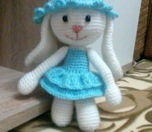Amigurumi Tarifi Tavşan Yapılışı 1