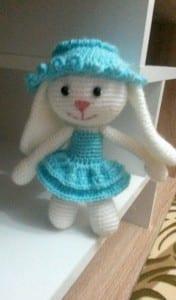 Amigurumi Tarifi Tavşan Yapılışı 2