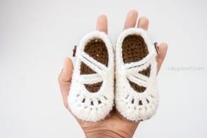 Bebek Örgü Patik Yapılışı