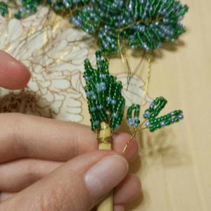 Boncuktan Çam Ağacı Yapımı 11