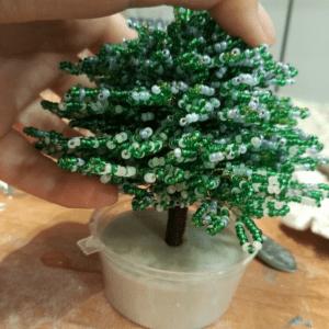 Boncuktan Çam Ağacı Yapımı 2