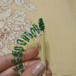 Boncuktan Çam Ağacı Yapımı 4