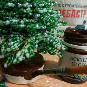 Boncuktan Çam Ağacı Yapımı 7