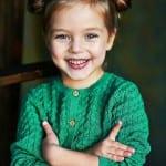 Çocuk Saçı Örgü Modelleri 12
