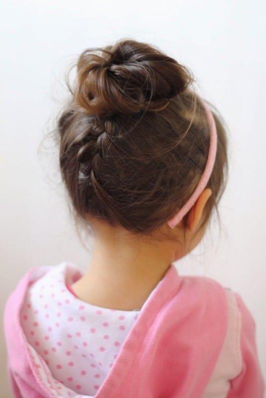 Çocuk Saçı Örgü Modelleri 13