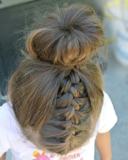 Çocuk Saçı Örgü Modelleri 14