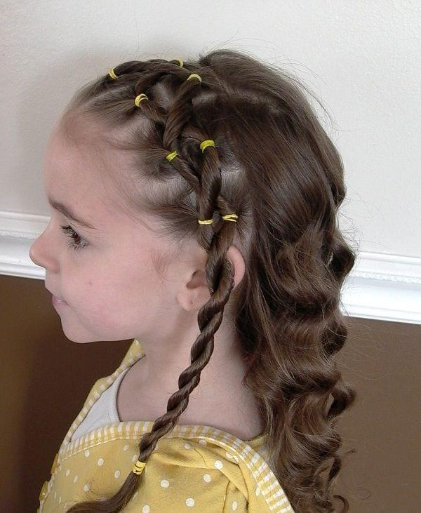 Çocuk Saçı Örgü Modelleri 16