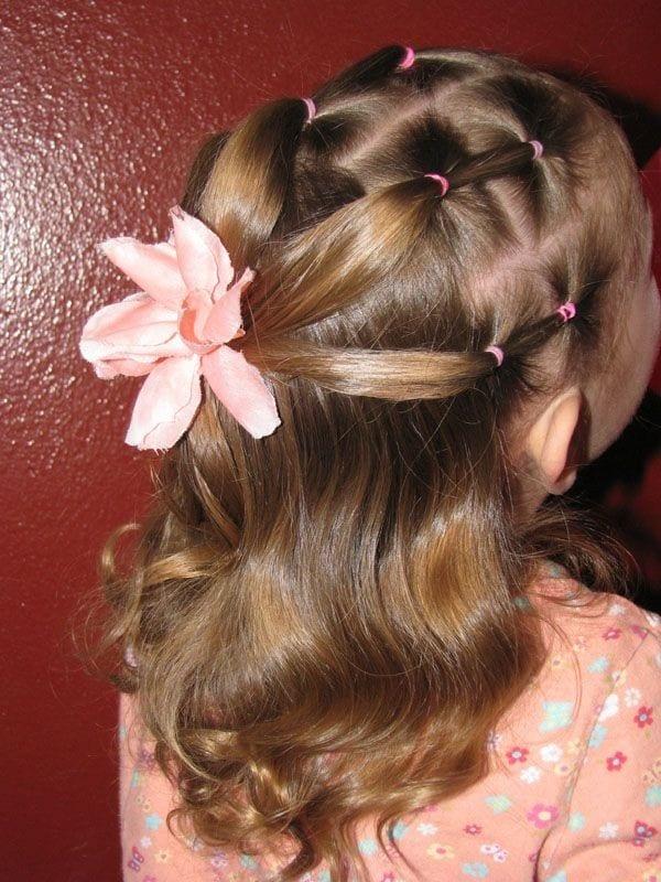 Çocuk Saçı Örgü Modelleri 17