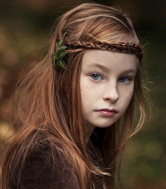 Çocuk Saçı Örgü Modelleri 18