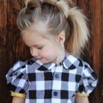 Çocuk Saçı Örgü Modelleri 19