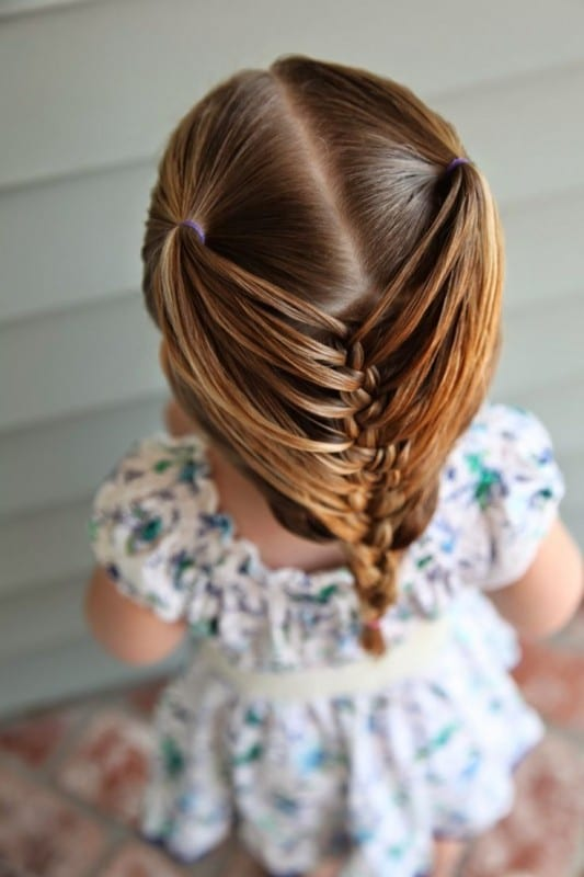 Çocuk Saçı Örgü Modelleri 25