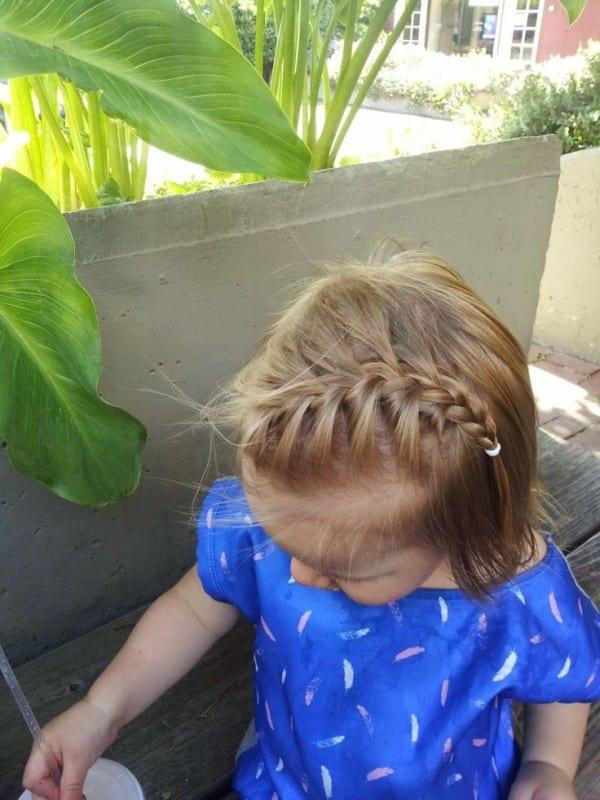 Çocuk Saçı Örgü Modelleri 26
