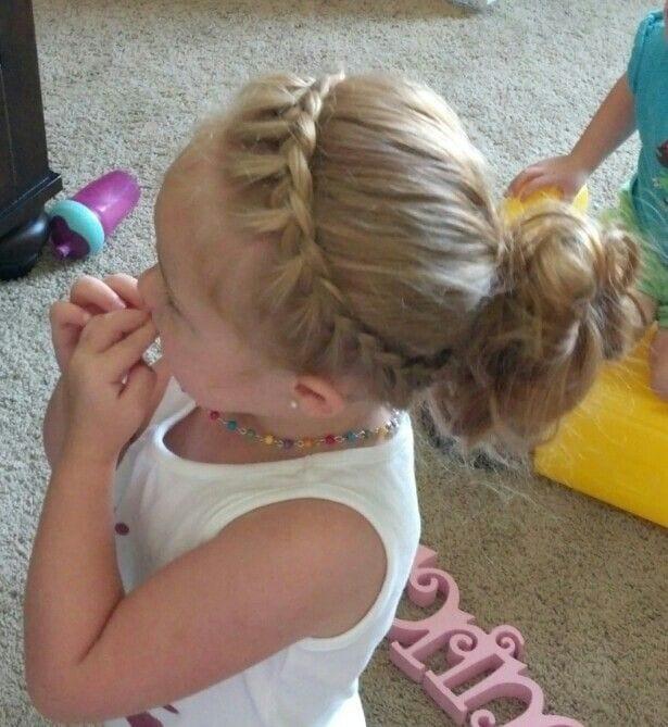 Çocuk Saçı Örgü Modelleri 27
