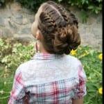 Çocuk Saçı Örgü Modelleri 2