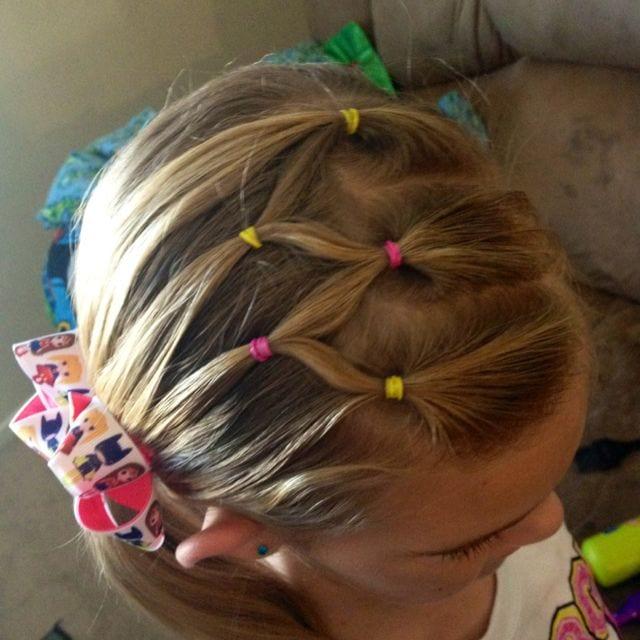Çocuk Saçı Örgü Modelleri 30