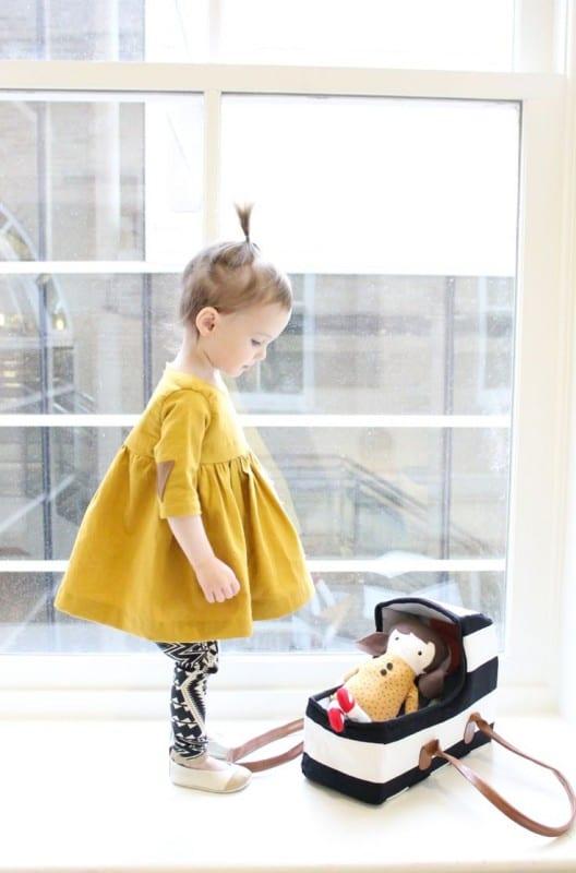 Çocuk Saçı Örgü Modelleri 31