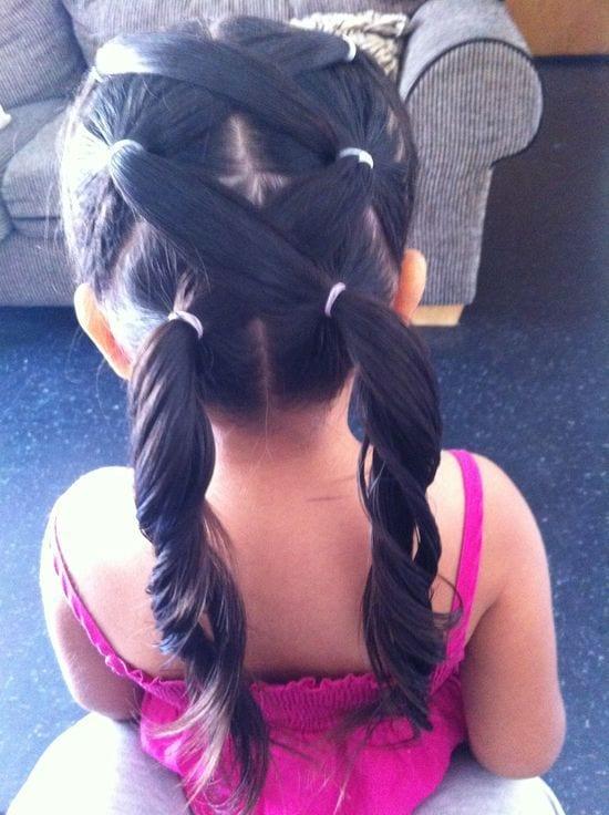 Çocuk Saçı Örgü Modelleri 32