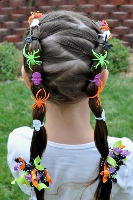 Çocuk Saçı Örgü Modelleri 34