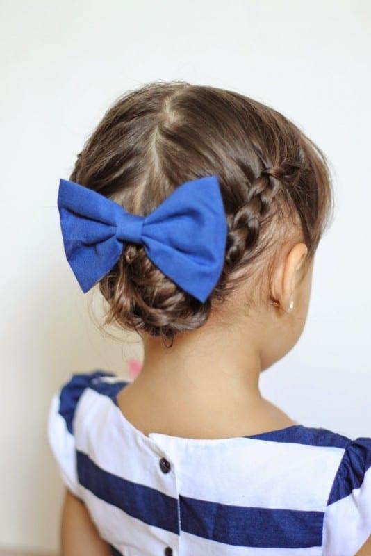 Çocuk Saçı Örgü Modelleri 38