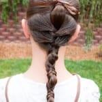 Çocuk Saçı Örgü Modelleri 41