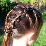 Çocuk Saçı Örgü Modelleri 42