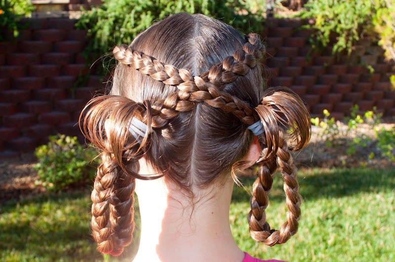 Çocuk Saçı Örgü Modelleri 43