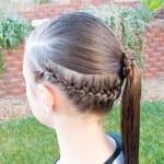 Çocuk Saçı Örgü Modelleri 45