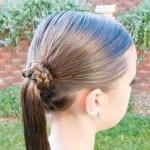 Çocuk Saçı Örgü Modelleri 46