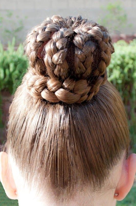 Çocuk Saçı Örgü Modelleri 47